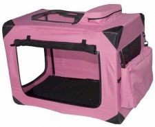Buy Pet Gear Generation II Deluxe Portable Soft Dog Crate Small Pink