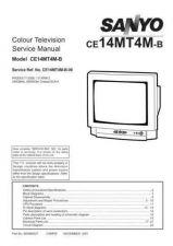 Buy Sanyo CE14MT4M-B-00 SM Manual by download #172880