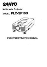 Buy Sanyo PLCEF31N EF31NL Manual by download #174748