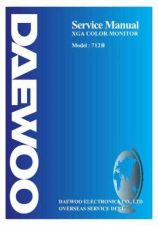 Buy DAEWOO MON712BSVC Manual by download Mauritron #184910