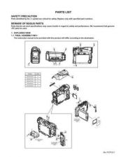 Buy JVC GR-D290US PART TECHNICAL DATA by download #130768