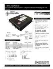 Buy COMMUNICATIONS SPECIALITIES INC SS-7040 by download #120062