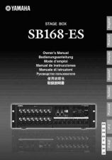 Buy Yamaha SB168ES EN OM E0 Operating Guide by download Mauritron #205276