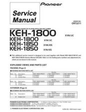 Buy PIONEER C2271 Service Data by download #152518