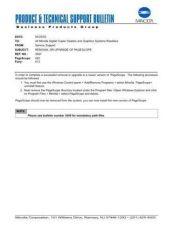 Buy Minolta 3547 Service Schematics by download #136634