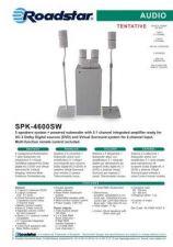 Buy ROADSTAR SPK-4600SW by download #128490