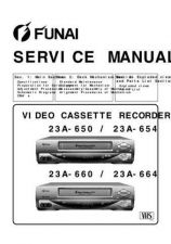 Buy Funai 23A-650-654-660-664 SERVICE MANUAL Manual by download #160902