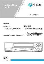 Buy Funai 21A-210(GB) Manual by download #160870