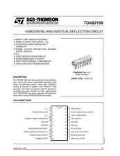 Buy MODEL TDA8215B Service Information by download #124836