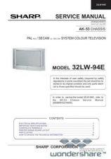 Buy Sharp 32LW94E SM GB(1) Manual.pdf_page_1 by download #178314