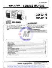 Buy Sharp CDC410H-CPC410 SM GB Manual by download #179891