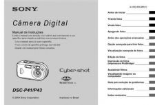 Buy SONY DSC-P43 OPERATING GUIDE by download #166750