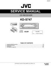 Buy JVC KD-S747 Service Schematics by download #156177