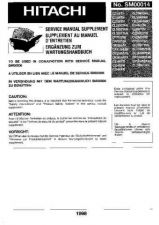 Buy Hitachi SM00014 Manual by download Mauritron #184627