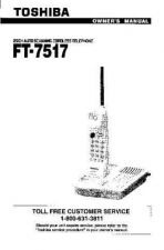 Buy Toshiba FT8258BK Manual by download #172092