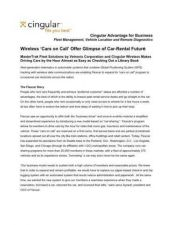 Buy PALM VETRONIX-FLEXCAR SUCCESS STORY by download #127462