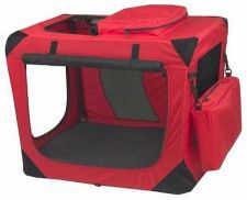 Buy Pet Gear Generation II Deluxe Portable Soft Dog Crate Small Red