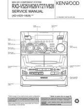 Buy KENWOOD RXD-V525 V626 V727 V828 Service Schematics by download #131660