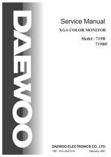Buy DAEWOO 719B BF Manual by download #183478