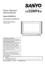 Buy Sanyo CE32WP4-B-03 Manual by download #173317