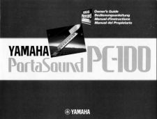 Buy Yamaha PC100E Operating Guide by download Mauritron #204019