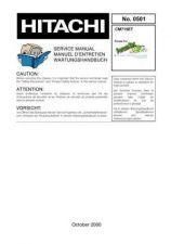 Buy Hitachi CM715ET NO 0501E Manual by download Mauritron #185963