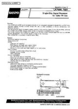 Buy SEMICONDUCTOR DATA LA7680, 7681J Manual by download Mauritron #188913