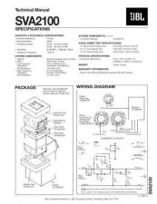 Buy INFINITY SVA2100 TS Service Manual by download #147852