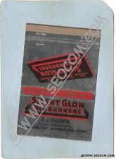Buy CT Manchester Matchcover Silent Glow Oil Burners E J DeLuca Factory Rep P ~1102