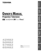 Buy Toshiba 40WH08 EPG CCT Manual by download #170575
