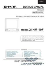 Buy Sharp 21HM10F SM GB Manual.pdf_page_1 by download #177886