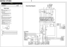 Buy MATSUI VP9505 Schematics plus by download #148528