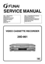 Buy Funai 29D-861 (HG457ED) SERVICE MANUAL Manual by download Mauritron #185127