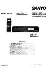 Buy MODEL VHR-D4400 Service Information by download #124995