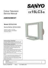 Buy Sanyo CE15LC3-B-00 SM Amendmen Manual by download #171455