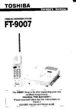 Buy Toshiba FTH955BK Manual by download #172112