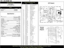 Buy JVC AV25VM1 Schematics plus by download #148045
