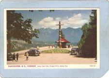 Buy CAN Vancouver Postcard Indian Totem Pole Prospect Point Stanley Park w/Old~134