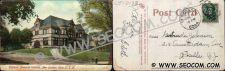 Buy CT New London Postcard Williams Memorial Institute Street Scene ct_box4~2033