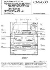 Buy KENWOOD RXD-M52L Technical Info by download #148332