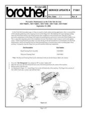 Buy Brother SU_F1061 Service Schematics by download #135071