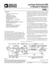 Buy INTEGRATED CIRCUIT DATA AD608J Manual by download Mauritron #186286