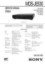 Buy SONY MDSPC2 MANUAL by download #128862