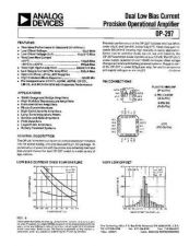 Buy SEMICONDUCTOR DATA OP297J Manual by download Mauritron #189864