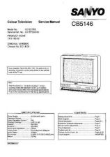 Buy Sanyo CB5146 SM-Only Manual by download #172729