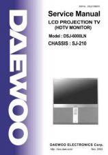 Buy DAEWOO DSJ6000LN%20SERVICE%20MANUAL Manual by download #184001
