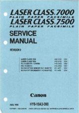 Buy Canon LASER CLASS 7000 7500 SERVICE Service Schematics by download #135159