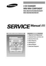 Buy Samsung MAX940TH XFATN011101 Manual by download #164429