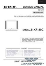 Buy Sharp 21KF80C SM GB(1) Manual.pdf_page_1 by download #177905