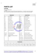 Buy Sharp AV-27F703, AV-27F713, AV-27F803 PART Manual by download #179682